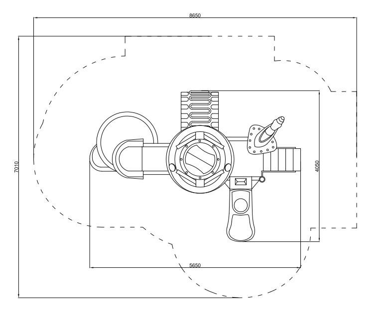 Plac zabaw Zestaw Robot 7 PLAY-PARK