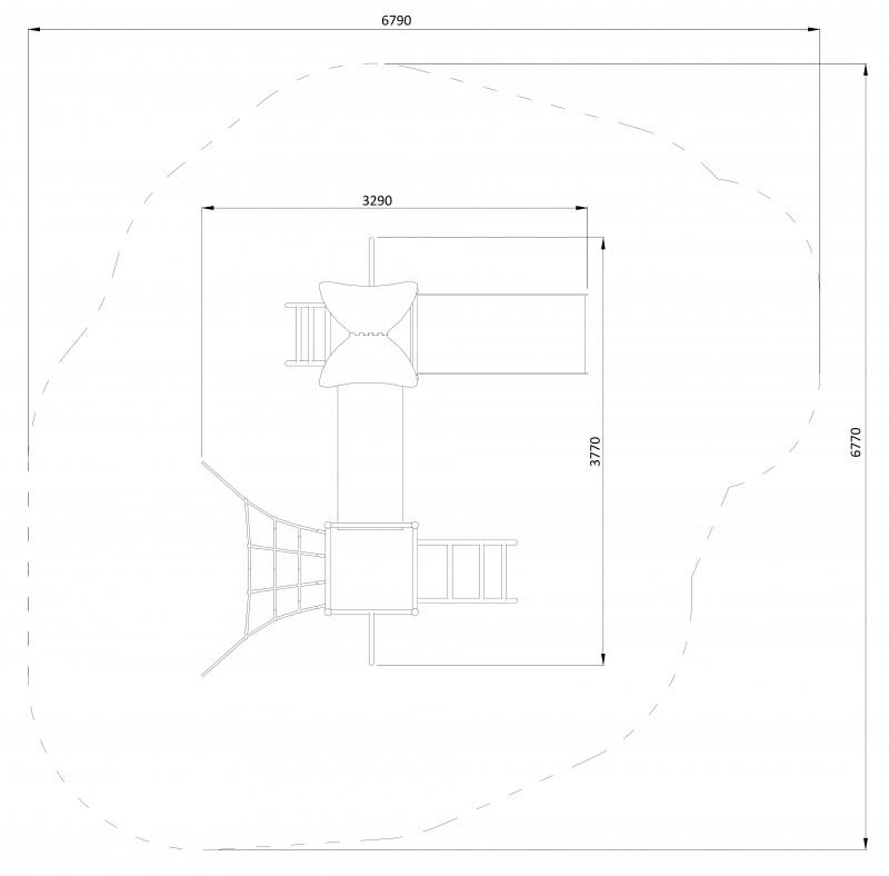 Plac zabaw Zestaw Bergamot PLAY-PARK